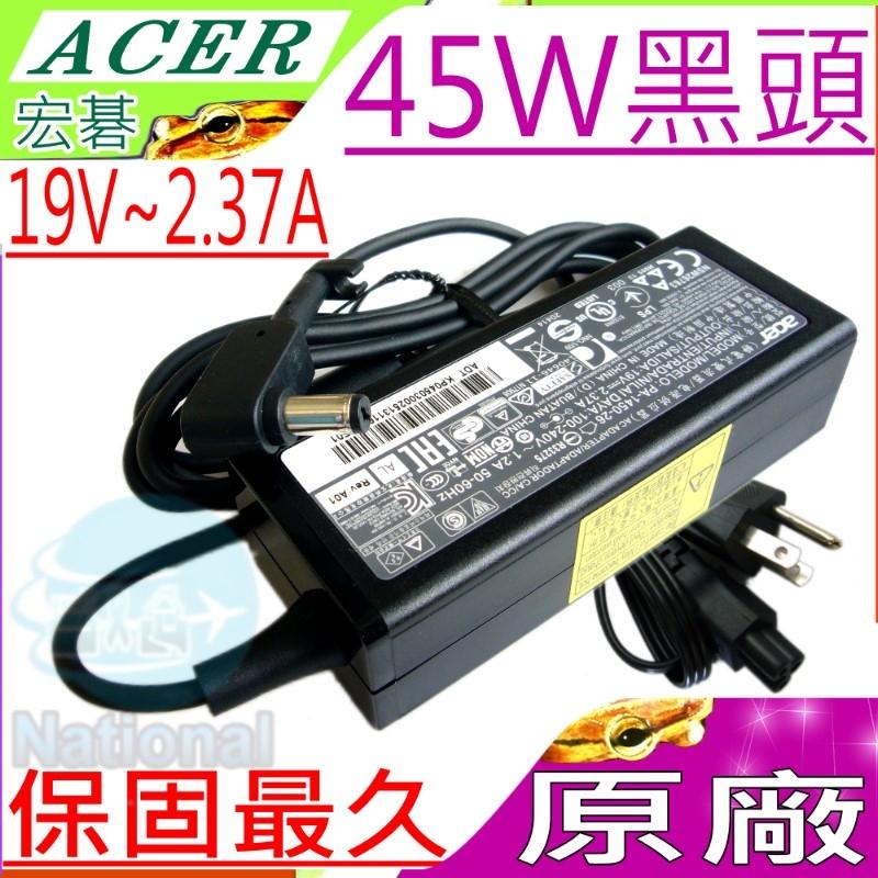 ACER充電器(原廠)-宏碁 19V,2.37A,45W,ES1-421,ES1-521 ES1-531,ES1-711G, ES1-131G,Al3-045N2A, A045R021L-ACO1