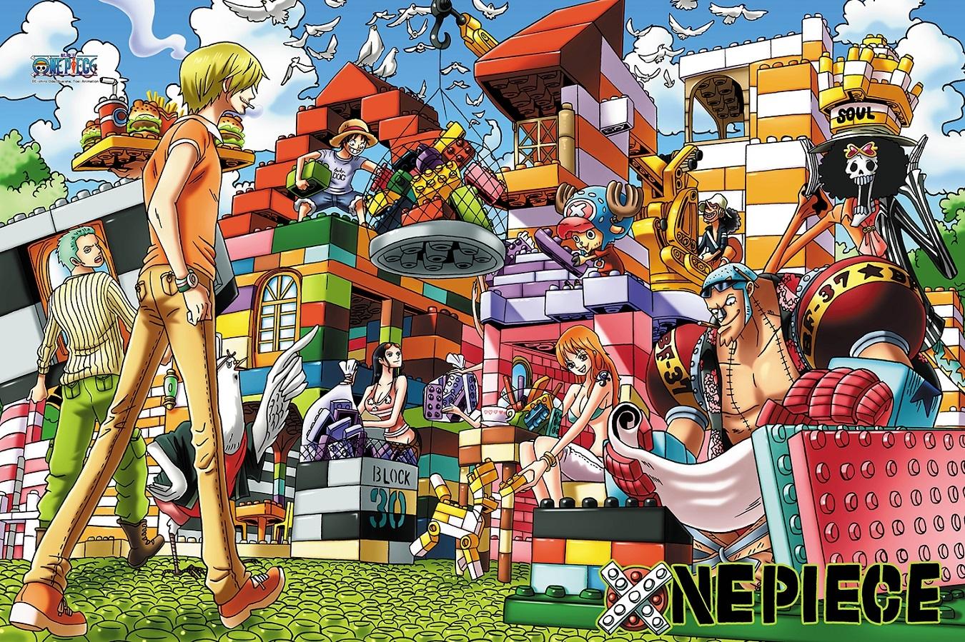 拼圖總動員PUZZLE STORY航海王-積木之家PuzzleStory海賊王One Piece 1000P