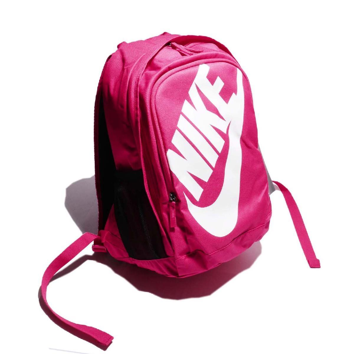 Nike後背包Hayward Futura M 2.0粉紅白基本款男女後背包PUMP306 BA5217-694