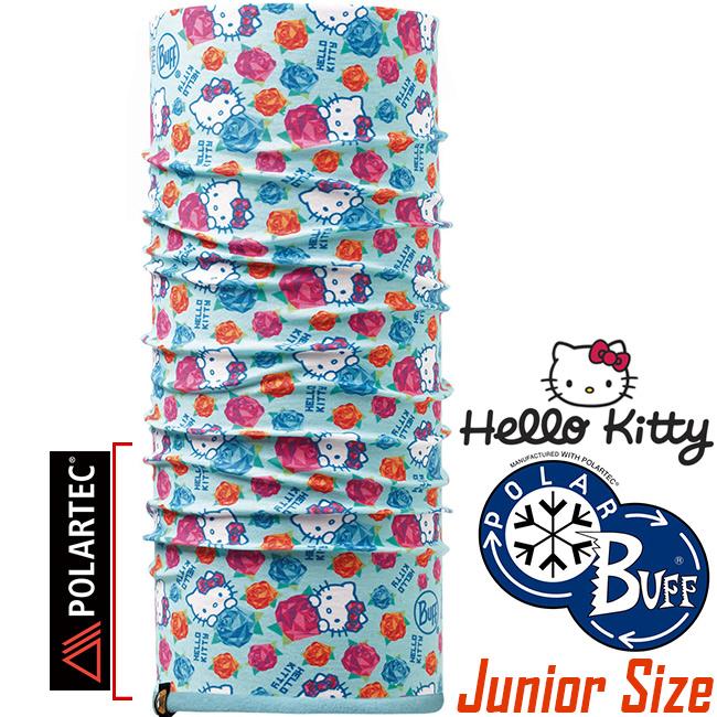 BUFF 113203.789 Hello Kitty授權Child Polar兒童單面保暖魔術頭巾Polartec機能布料東山戶外
