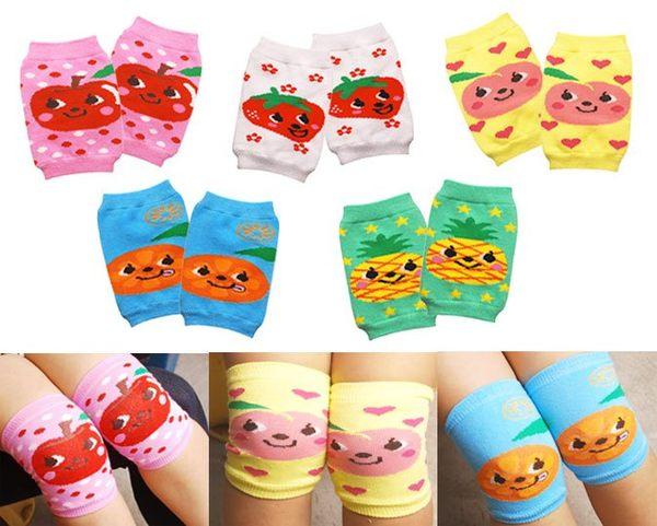 水果系列兒童護膝襪套 中筒襪 護膝套 日月星媽咪寶貝館
