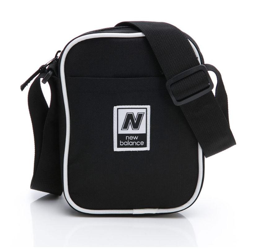 New Balance 黑色側背小包-NO.LAB93008BK