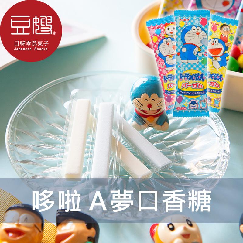 【豆嫂】日本零食 丸川 哆啦A夢口香糖(包裝隨機出貨)