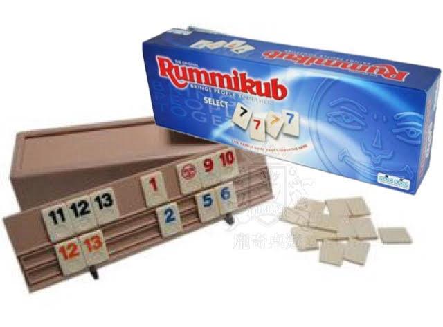 高雄龐奇桌遊拉密豪華版Rummikub Select正版桌上遊戲專賣店