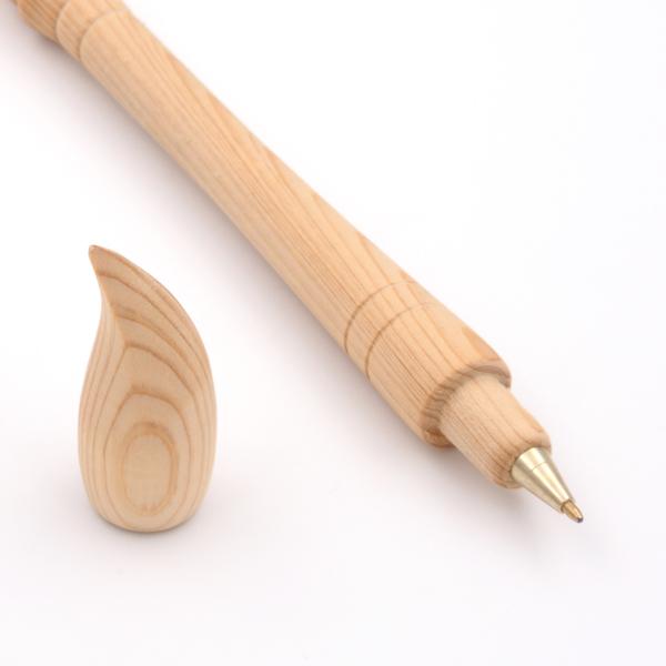 台灣檜木 文昌筆原子筆|可書寫,拜文昌帝君求考運,提供檜木掛飾批發,團購組合,檜木批貨