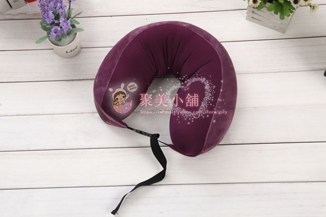 紫羅蘭色  瑜珈枕  奈米微粒(粒子) 午睡枕 車用靠枕 午安枕 抱枕 【聚美小舖】