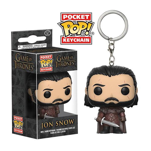 Funko POP!系列 Q版 HBO 冰與火之歌 權力遊戲 Jon Snow 瓊恩·雪諾 鑰匙圈