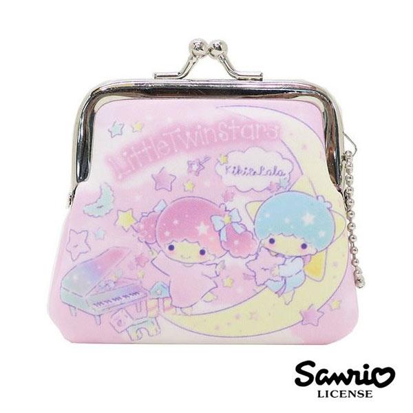 日本進口雙子星KIKILALA小型防震棉珠扣包零錢包三麗鷗Sanrio 439514