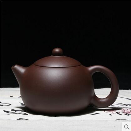 紫砂壺紫砂廠老工人手工製作內壁218球孔大西施茶壺茶具