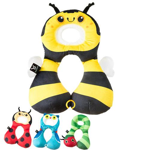 【奇買親子購物網】Benbat 寶寶旅遊頸枕 1-4歲(小蜜蜂/瓢蟲/貓頭鷹/毛毛蟲)