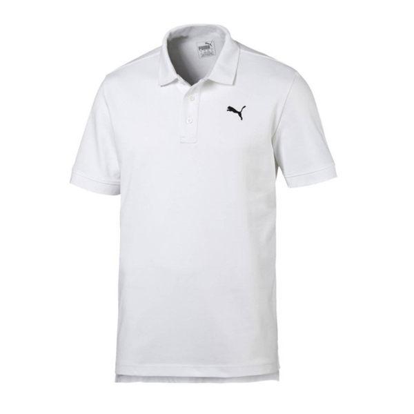 Puma 男 白 Polo衫 短袖 運動襯衫 短袖 短T 高爾夫 排汗 透氣 短袖 上衣 85041902