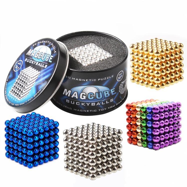 巴克球磁力球7mm216顆魔力磁鐵球兒童益智成人減壓玩具【大咖玩家】TW
