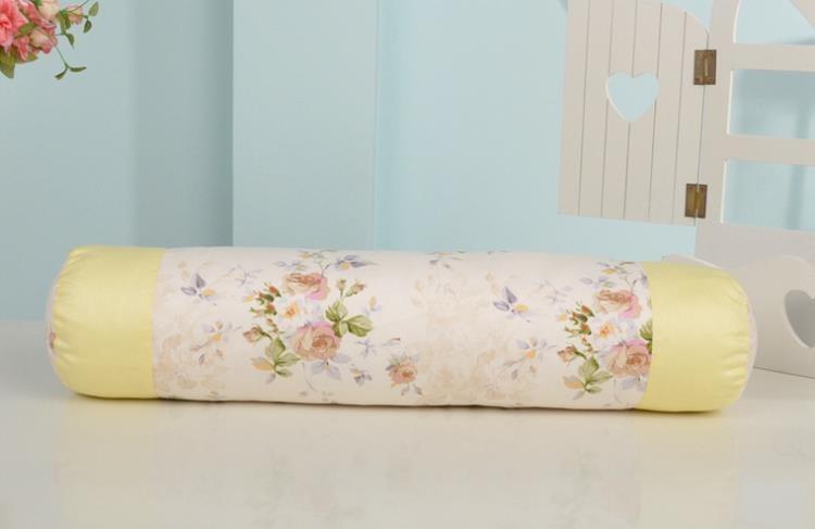 [超豐國際]棉布款糖果抱枕 沙發靠墊床頭枕辦公室靠枕可拆洗
