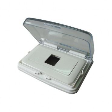 國際型開關插座單孔防水蓋組