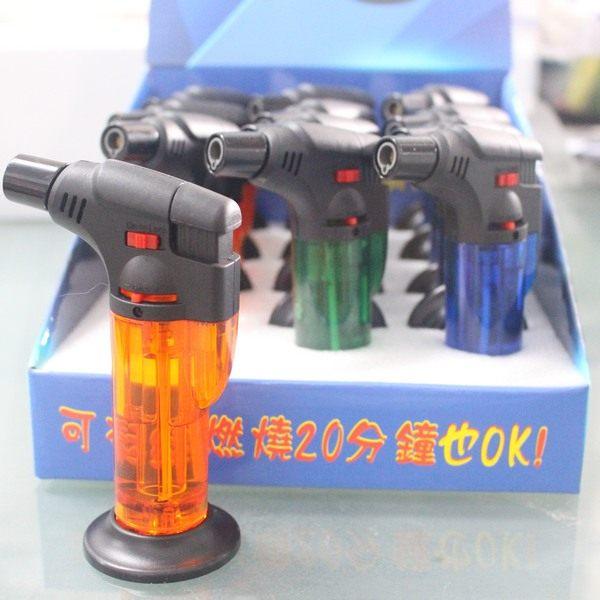 黑金剛 1300度 噴射噴火槍 YZ-789 點火槍/一盒12個入{促150} 防風打火機 ~可連續噴20分鐘~