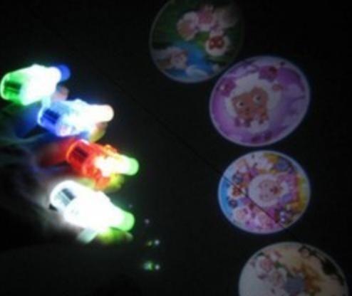 散裝LED激光燈 動畫投影燈  魔幻手指燈幻影戒指燈彩色