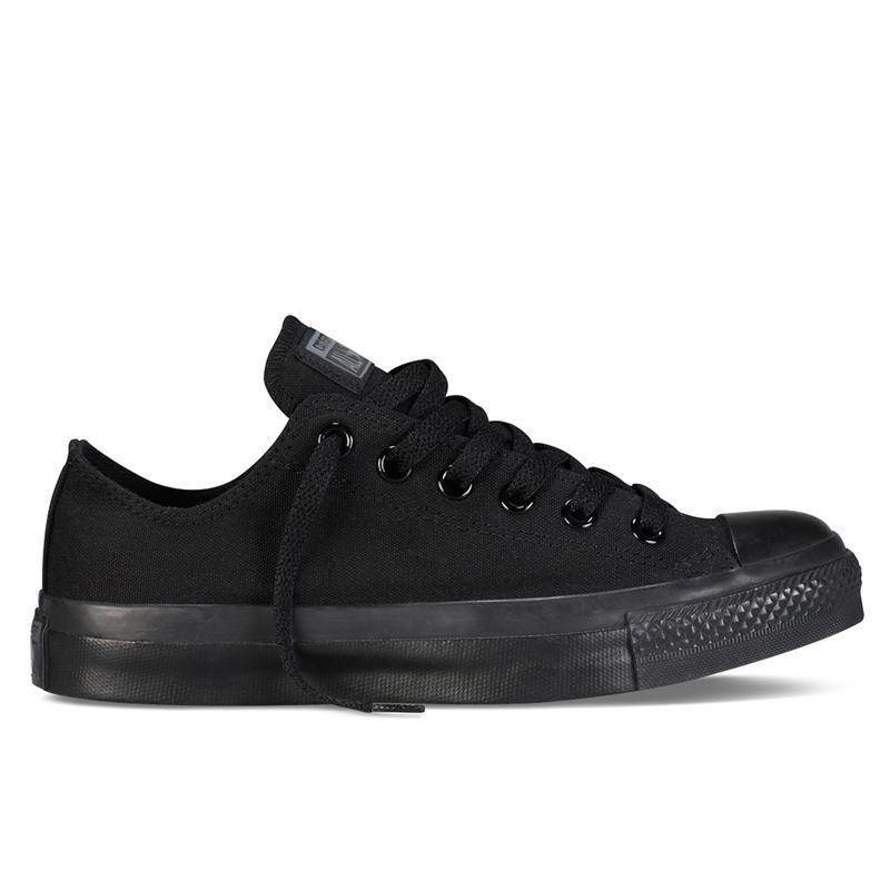 CONVERSE ALL STAR帆布鞋-全黑M5039C