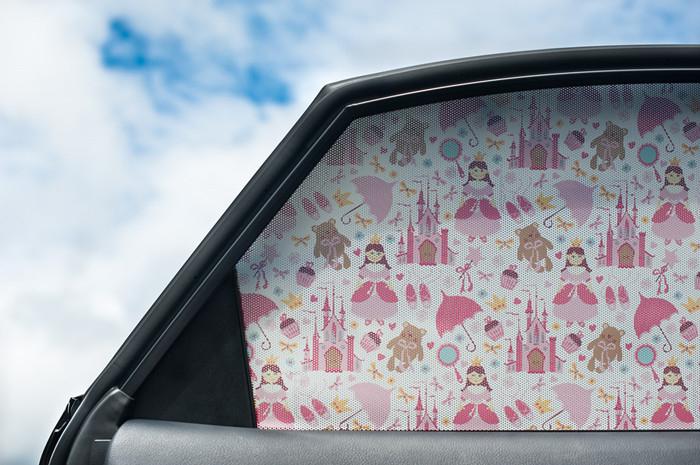 星光紐澳紐西蘭進口little Shades卡哇伊魔力防曬車窗貼紙貼膜DIY自黏式隔熱遮陽兒童最愛
