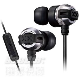 曜德送收納盒JVC HA-FX33XM銀入耳式耳機重低音系列線控麥克風免運