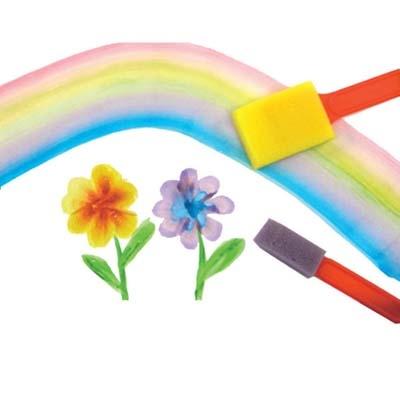 【華森葳兒童教玩具】美育教具系列-海綿彩繪刷 L1-AP/123/SBR