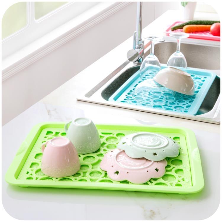 超豐國際塑料水果盤客廳果盤水果瀝水盤創意家用長方形盤子托盤杯盤