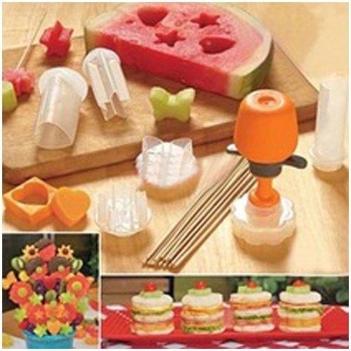 模具   水果串製作 塑料模型蛋糕 水果裱花器 水果模型DIY模具