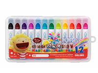 義大文具~雄獅奶油獅12色可水洗彩色筆D盒BLW-12B畫畫畫具美術用品美勞用品