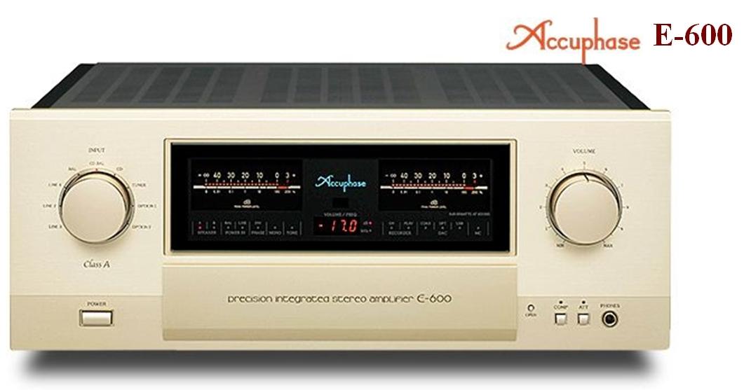 《名展影音》頂級旗艦 精華提升亮眼登場 日本金嗓子 Accuphase E-600 綜合擴大機   公司貨