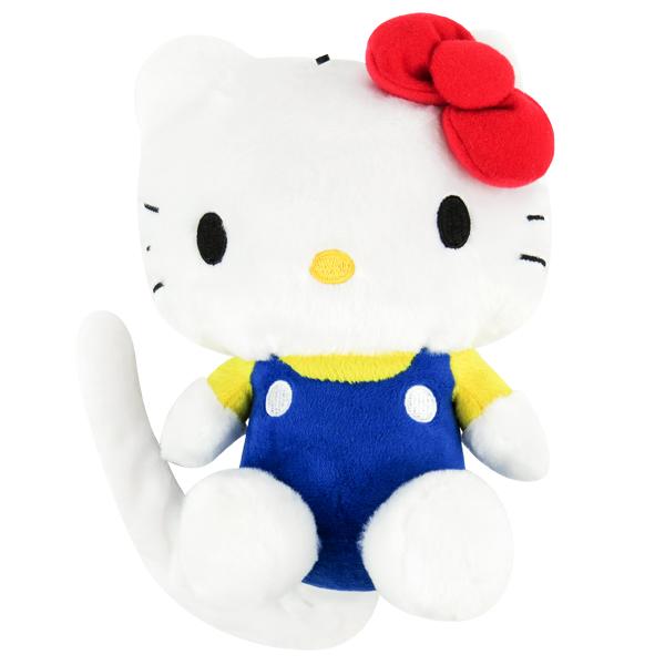 Hello Kitty娃娃 有聲旋轉翻滾絨毛娃娃/公仔/玩具 [喜愛屋]
