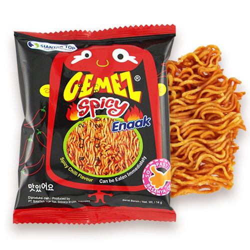 韓國 Enaak 香脆點心麵(辣味) 14g(隨手包)  小雞麵【BG Shop】