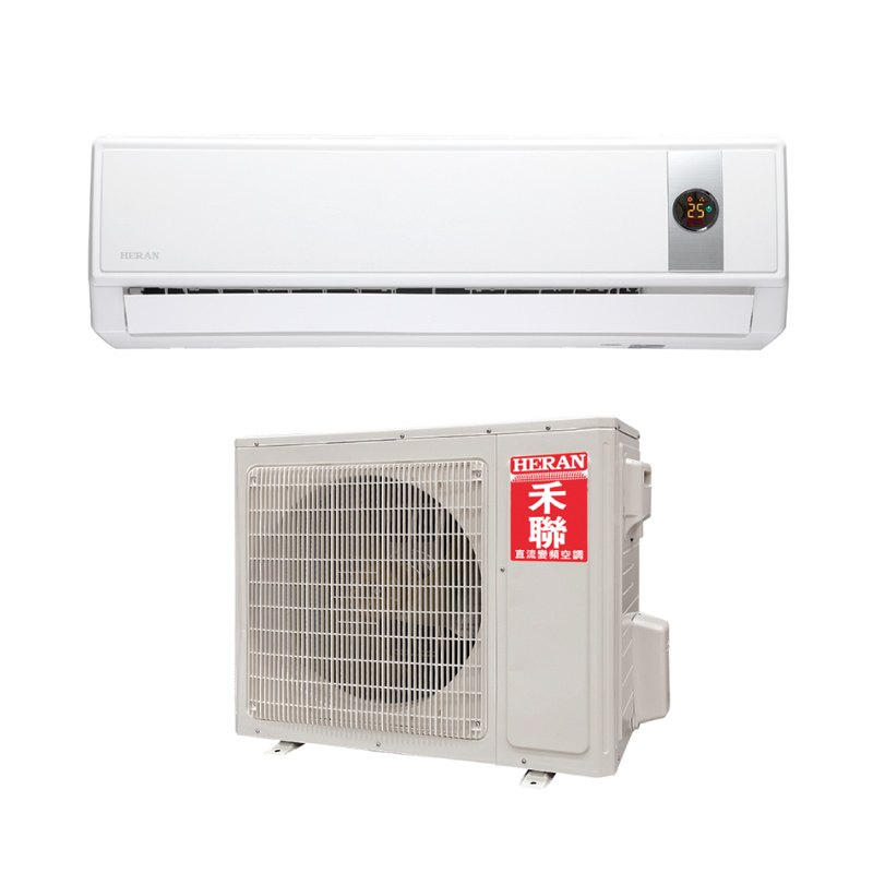 0利率HERAN禾聯*約14-15坪*一對一分離式變頻冷氣機HI-GP801 HO-GP801南霸天電器百貨
