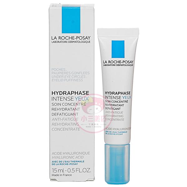 LA ROCHE POSAY理膚寶水全日長效玻尿酸保濕修護眼霜15ml小三美日