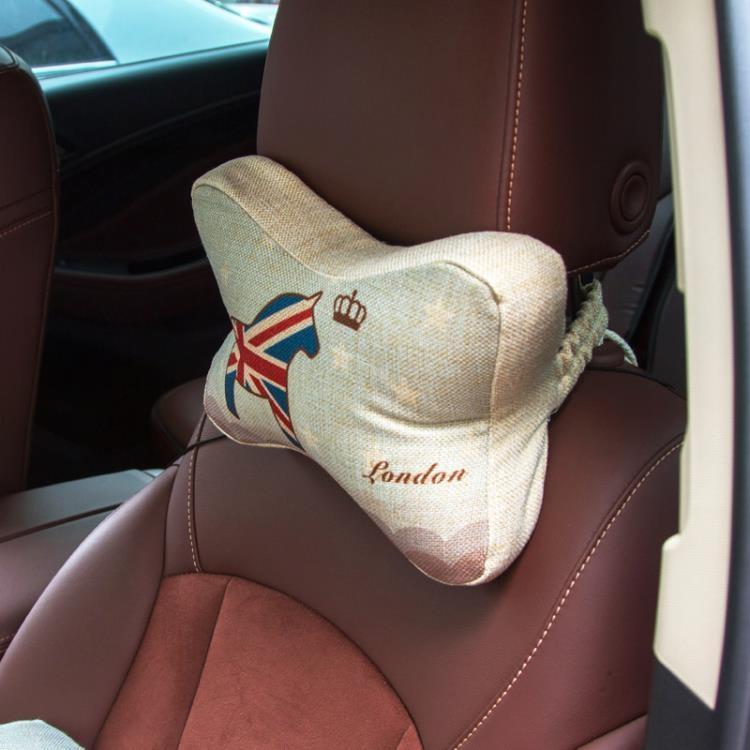 超豐國際汽車座椅枕頭可愛車載頸枕靠枕車用卡通頭枕車內記憶護頸枕
