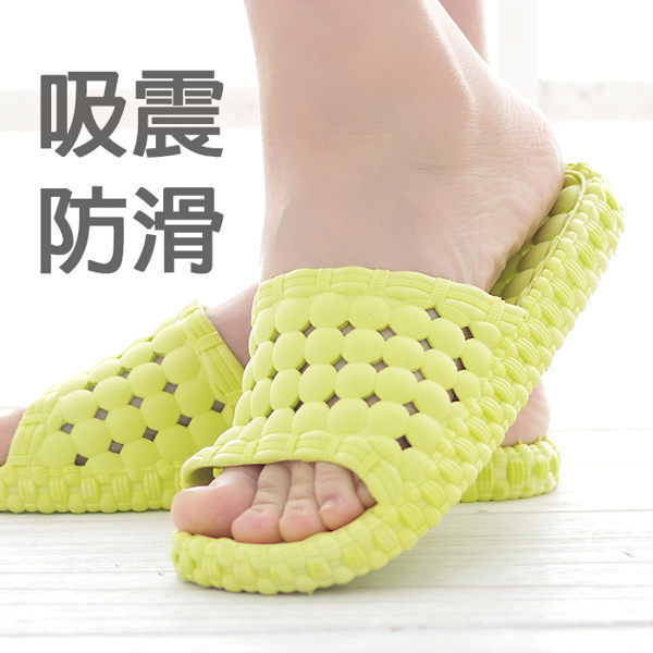 室內拖鞋氣墊厚底運動拖鞋防水防滑浴室拖鞋Life Beauty