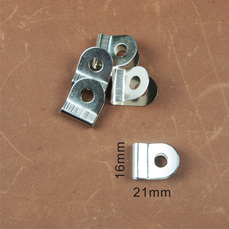 5入 單孔套片 (寬:16mm 高:21mm ) 皮雕 / 拼布 / 五金材料/DIY