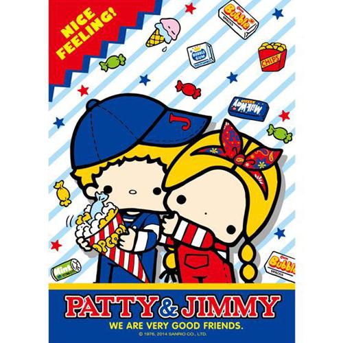 【P2 拼圖】Patty&Jimmy兩小無猜 108片 HP0108-063