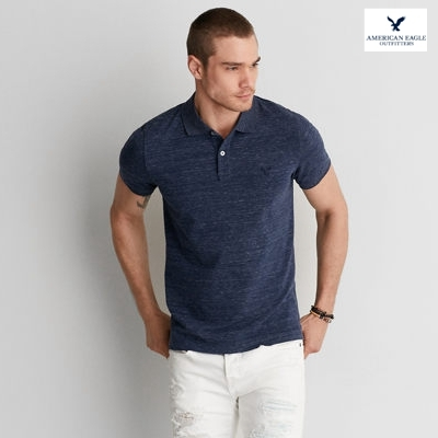 BJGO AMERICAN EAGLE AEO CLASSIC FIT FLEX PIQUE POLO美國老鷹POLO衫現貨XXL