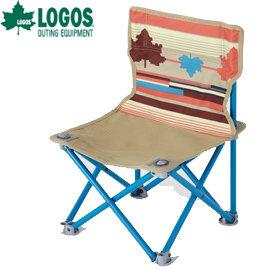 丹大戶外LOGOS日本印地安楓葉民族風野營折疊椅釣魚椅烤肉椅附收納袋73170019