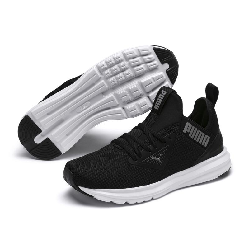 Puma Enzo 女 黑 慢跑鞋 訓練鞋 運動鞋 休閒鞋 彈性中底 健身 跑步 透氣 休閒鞋 19244304