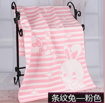 浴室嬰兒浴巾純棉新生兒三層紗布寶寶潮咖地帶