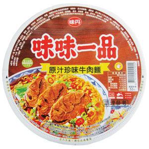 味味一品原汁珍味牛肉麵碗裝