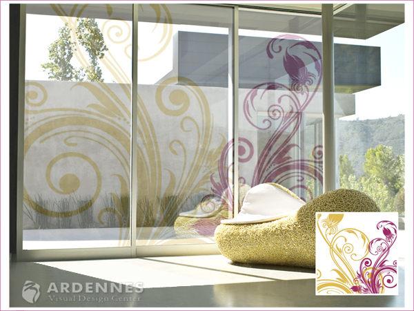 【ARDENNES】防水壁貼 壁紙 牆貼 / 磨砂面 亮面 / 玻璃透明貼紙 GS-006
