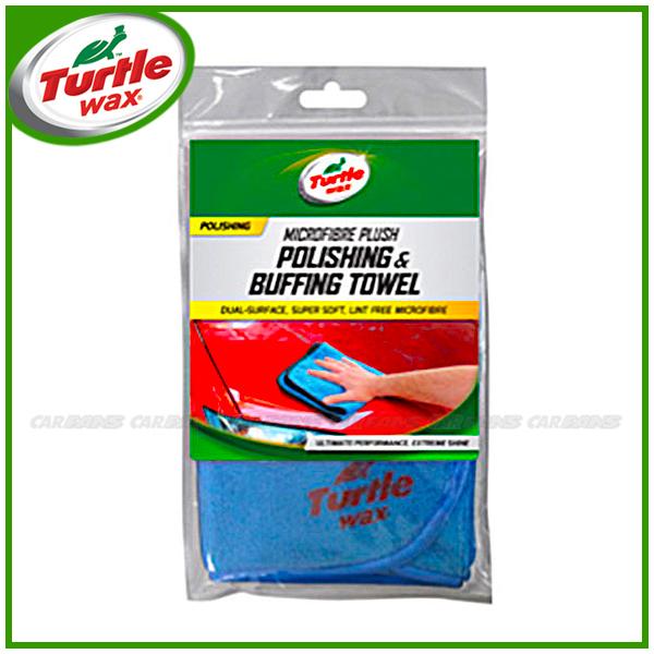 愛車族購物網美國龜牌Turtle Wax推蠟拋亮雙面布