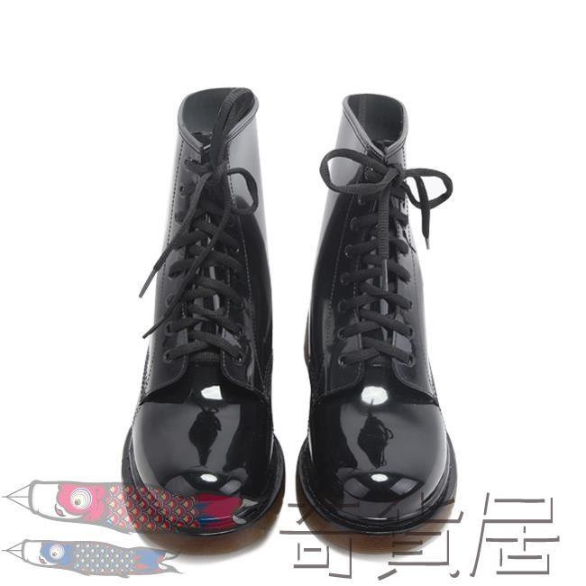 防滑雨鞋短筒防水鞋馬丁雨靴男膠鞋