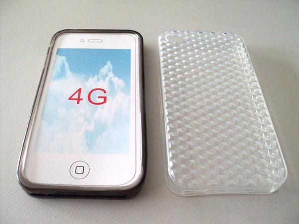 ✔IPhone4S 透明 清水套 Apple IPhone 4S IP4 手機殼/保護殼/金剛套/保護套/手機套/布丁套/黑色/白色