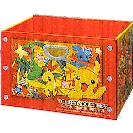 波克貓哈日網神奇寶貝玩具收納盒三層櫃收納盒日本正式授權商品