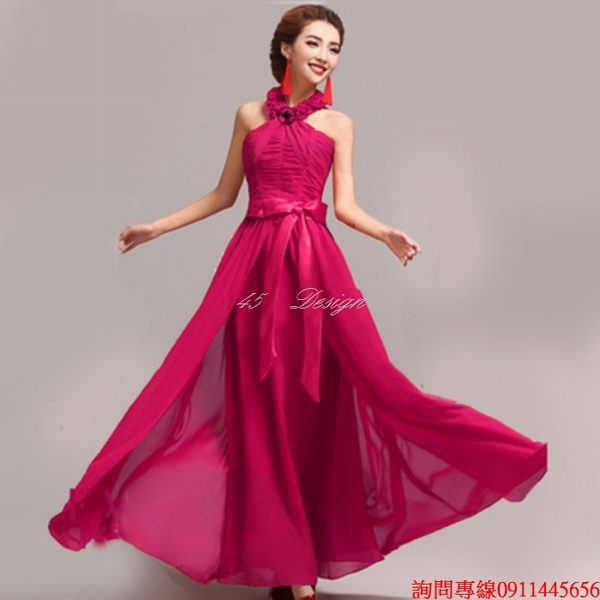 45 Design來圖訂製款.加大尺吋中大尺碼~媽媽禮服洋裝.可定製XXS~5XL 6XL 7XL 8XL 9XL加大