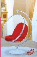 南洋風休閒傢俱設計單椅系列-太空球椅造型椅星球轉椅008-1