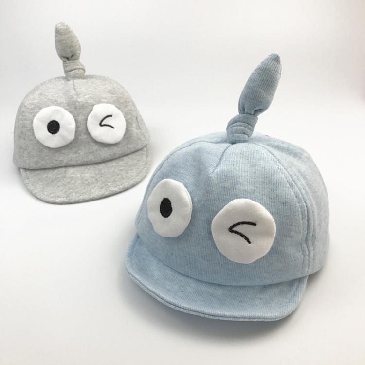 嬰兒帽男女寶寶遮陽帽薄款純棉鴨舌帽