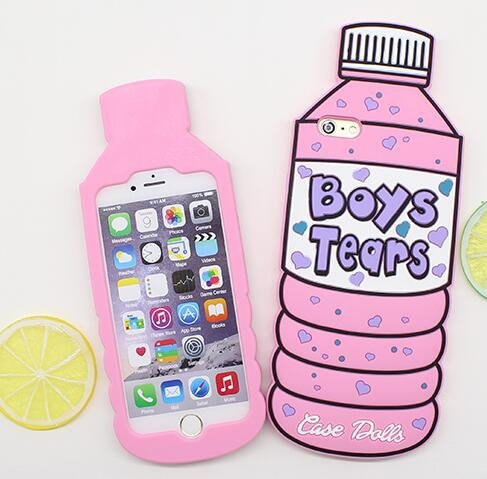 SZ25 iphone 7 plus手機殼礦泉水瓶子手機殼i 6 plus iphone 7手機殼i phone6s軟殼iPhone 5S se